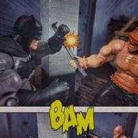 蝙蝠侠玩具场景漫画《最后一战》