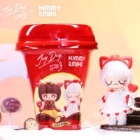 跨界 | 伊利JoyDay芯趣多×52TOYS Kimmy&Miki解锁盲盒新玩法!