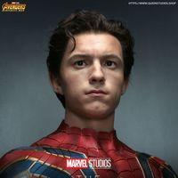 Queen Studios Marvel 复仇者联盟 无限战争 蜘蛛侠 1/1雕像前瞻