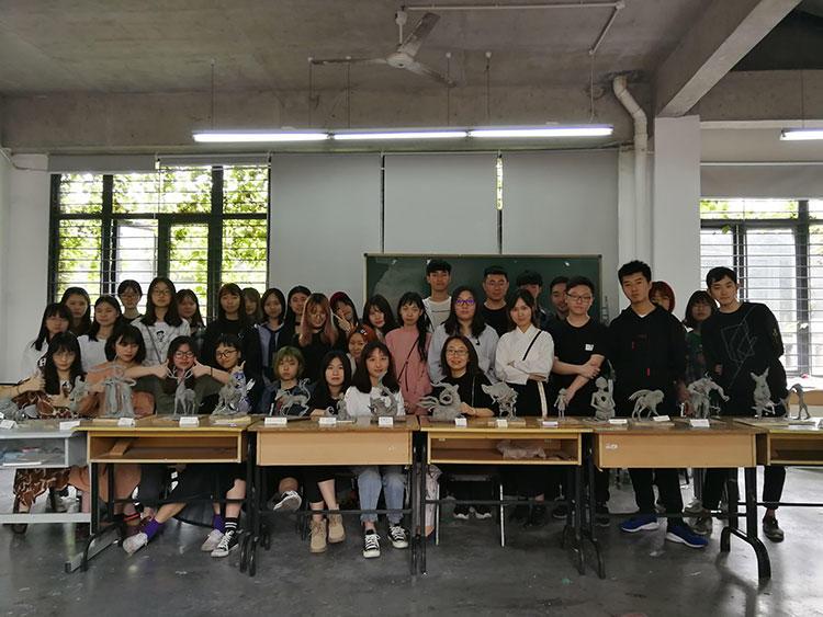 其中一堂课的照片