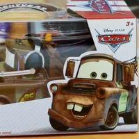 赛车总动员大号车模 雪地赛后勤组版板牙车模试玩