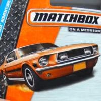 火柴盒 1968 福特 野马 Ford Mustang GT CS 合金车