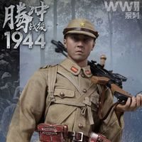 IQO Model WWII 1944 腾冲战役 日本机枪手 12寸兵人前瞻