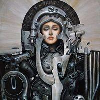 日本科幻绘画艺术家-加藤直之