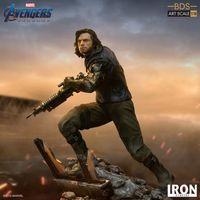 Iron Studios 复仇者联盟终局之战 冬兵巴基 1/10雕像前瞻