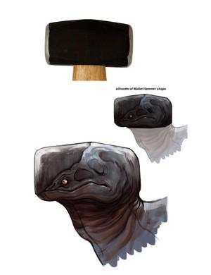 来自印度的概念艺术设计师Safdar Ali Mirza,用这些怪兽设计很好的诠�...