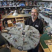 他设计了40年的星战玩具,而热情从未消退