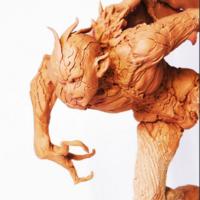 塚田貴士制作大山竜角色的变身过程习作