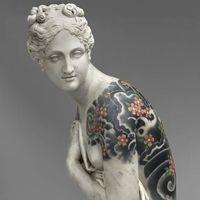 替古典众神雕像做全甲刺青的艺术家——Fabio Viale