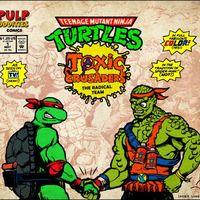 这满身花花绿绿的怪物们居然是忍者神龟的师弟-Toxic Crusaders