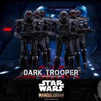 HotToys 星球大战 曼达洛人 暗黑暴风兵Dark Trooper 12寸人偶前瞻