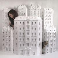 巴黎的纸模型艺术家—Camille Ortoli