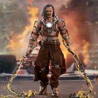 HOTTOYS 2020香港动漫电玩节限定 钢铁侠 喪鞭 12寸人偶前瞻