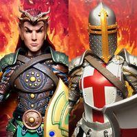 四骑士神话军团2.0腐潮 精灵领主艾顿&女十字军德菲娜