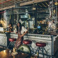 在开普敦的蒸汽朋克咖啡店