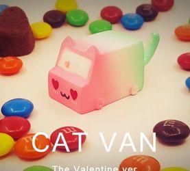 需要搭一辆爱的急救车吗?梵猫手作,情人节限定猫猫车,2月14与你...