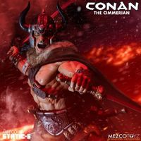 Mezco 野蛮人柯南 Conan the Cimmerian 1/6雕像前瞻