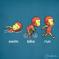 超级英雄运动会(插画欣赏)