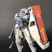 来自日本的涂装达人katoya 机甲改造作品步骤赏析