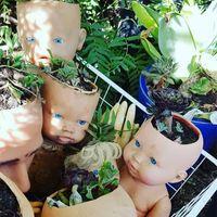 梦魇还是艺术?废旧玩偶正悄然占领人类花园