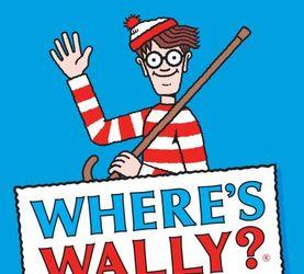 Where's Wally?大家一起来找他~