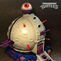 忍者神龟大小科技球-忍者神龟反派的家