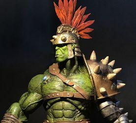 【老鐵玩具分享】MS迪士尼限定 星球浩克 角斗士绿殇