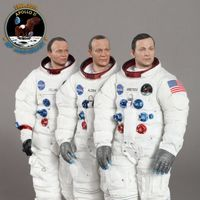 DID 阿波罗11号 登月50周年 - NASA宇航员 12寸人偶 前瞻