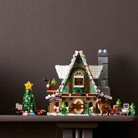LEGO 10275 创意冬季村庄系列 小精灵俱乐部 SET 前瞻