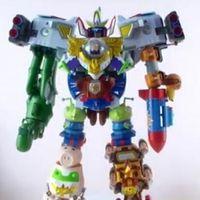 超合金玩具总动员污迪巴斯大合体