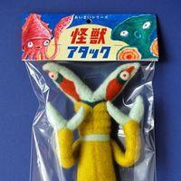 来自日本艺术家水島ひね的可爱的怪獣