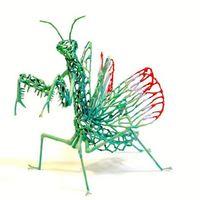 镂空动物模型—Constantine Novak作品欣赏