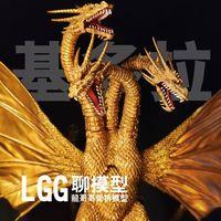 LGG聊模型-万代SHM-王者基多拉!黄金原色再版!电影魔龙复仇模型!视频评测!