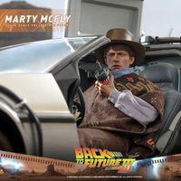 Hottoys MMS616 回到未来3 马丁/Marty Mcfly 12寸人偶前瞻