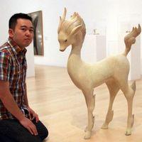 空与灵 用极简主义表现动物的木雕艺术家土屋仁応