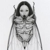 """美女画师Jamie Wells画作自带黑暗缥缈的""""神秘感"""""""