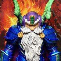 【老鐵玩具分享】四骑士神话军团 全明星2.0蓝矮人 乔伦德·史诗缔造者