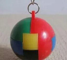 可拆装五彩塑料球