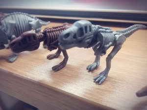 最近特别偏爱恐龙相关的动物玩具,尤其是扭蛋