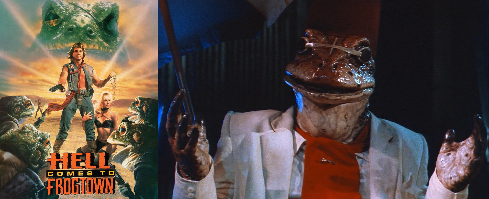 《Hell comes to frogtown》(1988)中的青蛙怪人