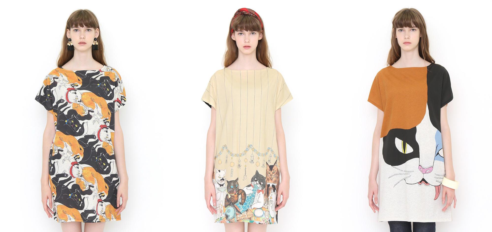 日本潮流服饰品牌graniph推出的石黒 亜矢子系列女装